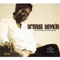 CD Brenda Boykin – All The Time In The World / jumping jazz, electro swing, house jazz  (digipack)